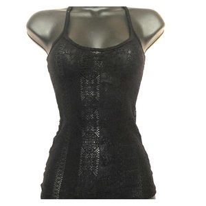⭐️⭐️5 for $7⭐️⭐️ Black lace tank